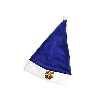 FC Barcelona Crest Supersoft Santa Hat