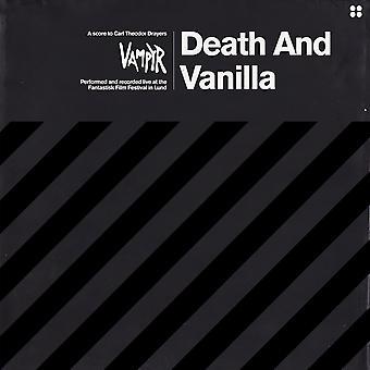 Död och vanilj – Vampyr Limited Edition Svart & Vit Marmor Vinyl