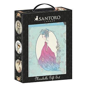 Gift Set Mirabelle Santoro Blue Green