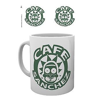 Rick e Morty Cafe Sanchez Mug