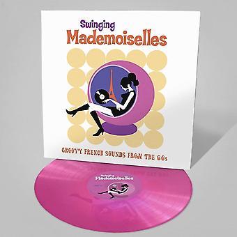 Various - Swinging Mademoiselles Neon Pink Vinyl