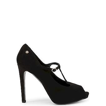 Roccobarocco - Shoes - High Heels - RBSC0U402CAM-NERO - Women - Schwartz - EU 38