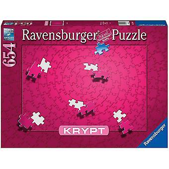Ravensburger Krypt Roze Legpuzzel (654 Stukjes)