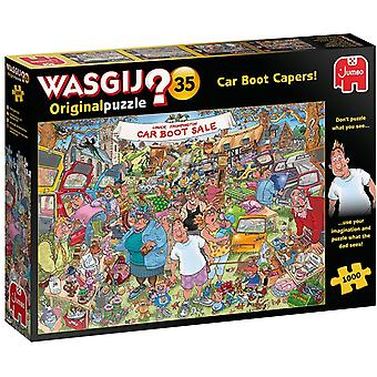 Jumbo Wasgij Original 35 Car Boot Capers! - 1000 Piece