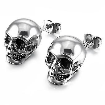 Ear Studs Skull Boucles d'oreilles Eardrops Alloy For Festival
