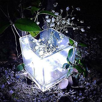 الحبال الخفيفة سلاسل سلسلة خرافية ضوء البطارية تعمل أضواء عيد الميلاد أضواء حفل الزفاف