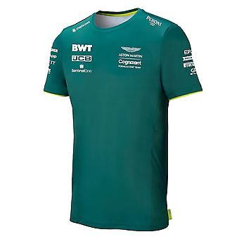 2021 Aston Martin F1 Official Team T-Shirt - (Green)