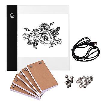 رسومات أقراص 300 ورقة المحمولة قاد ضوء لوحة flipbook ورقة مع مسامير ملزمة