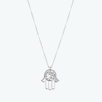 Yllätys Fatıma Ana'käsi timantti kaulakoru
