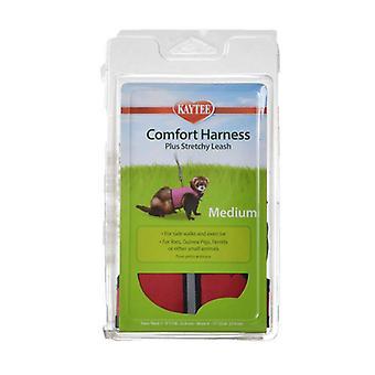 "Kaytee Comfort Harness with Safety Leash - Medium (7""-9"" Neck & 9""-11"" Waist)"