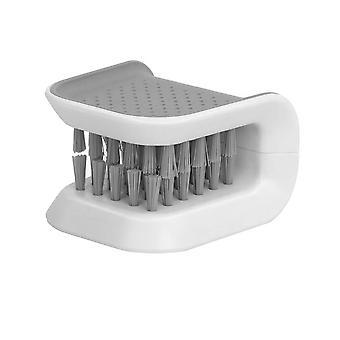 Afwasborstel voor messen met handbeschermer