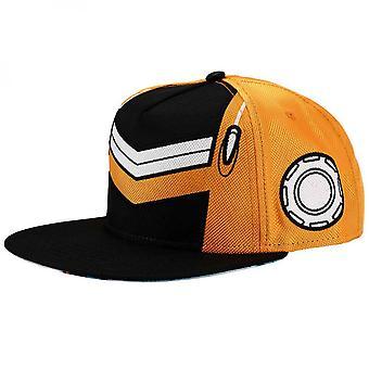 Dragon Ball Z Saiyaman Ballistic Nylon Cosplay Flat Bill Snapback Hat