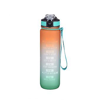 sport plass flaske / frostet materiale / 1000ml