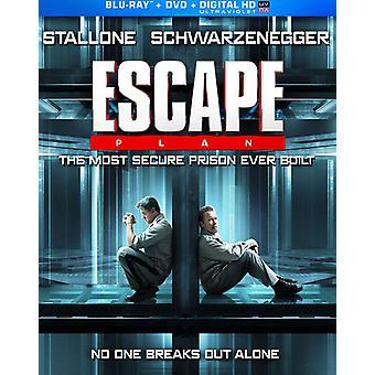 Escape Plan [BLU-RAY] USA importerer