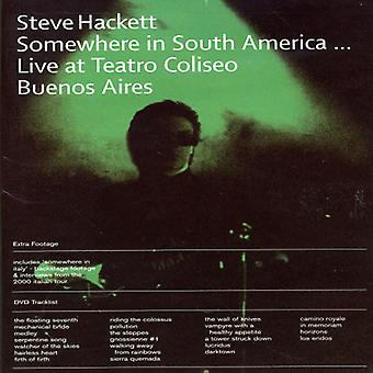 Steve Hackett - Somewhere in South America [DVD] USA import