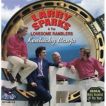 Larry Sparks - Kentucky Banjo [CD] USA import