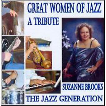 ブルックス、スザンヌ ジャズ世代トリビュート [CD] USA ジャズの輸入の偉大な女性