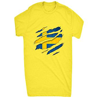 Renowned 0055 swedish flag ripped