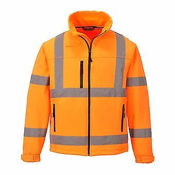 Портвест - Привет-Vis безопасности workwear Классический Softshell Куртка (3L)