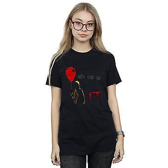 It Women's Georgie Float Boyfriend Fit T-Shirt