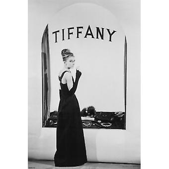 Audrey Hepburn Tiffany Poster Print (24 x 36)