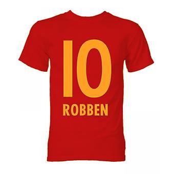 Arjen Robben Bayern München Held T-Shirt (rot)