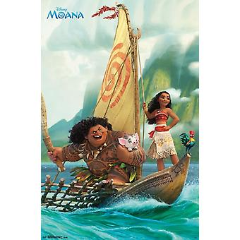 Moana - Group Poster Print by