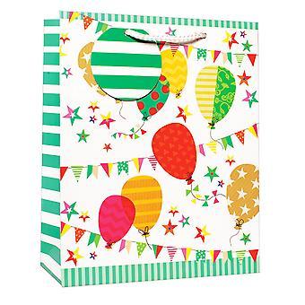 Simon Elvin Birthday Balloons Design Gift Bags (Pack of 6)