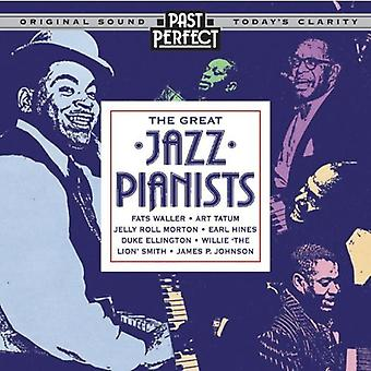 Great Jazz Pianists: Instrumental Jazz From the 20s 30s & 40s Audio CD