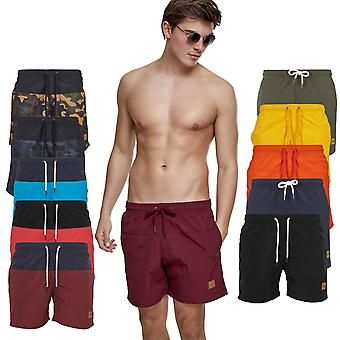 Urban classics - BLOCK swim swim shorts swimwear