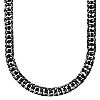 MIAMI iskallt ut rostfritt stål och bromsa kedja - 6 mm svart