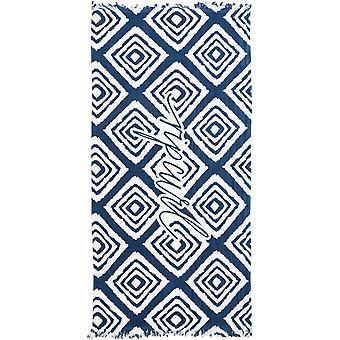 Rip Curl Plaża Bazaar Ręcznik plażowy w kolorze niebieskim