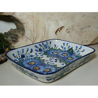 Schale / Auflaufform, 19 x 24 x 4 cm, Unikat 49 - polacco ceramica - BSN 6590