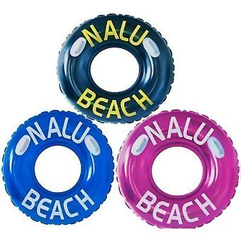 """Nalu 42"""" Turbo Swim Ring Inflatable Tube With 2 Handles - 1 Supplied"""