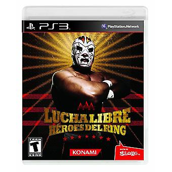 Lucha Libre Aaa Heroes Del Ring PS3 Game