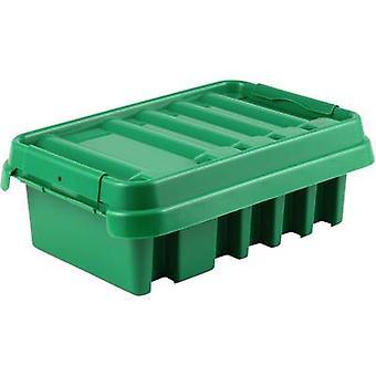 Caixa de distribuição de 21043 Heitronic verde