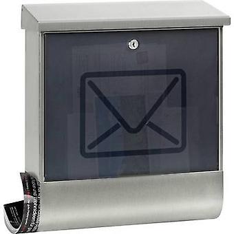بورغ Wächter 65300 لوسنتا 2700 ني Letterbox الفولاذ المقاوم للصدأ مفتاح الفولاذ المقاوم للصدأ