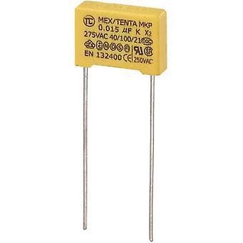 MKP-X2 1 PC('s) MKP-X2 onderdrukking condensator radiaal leiden 0,015 µF 275 V AC 10% 10 mm (L x W x H) 13 x 4 x 9 mm