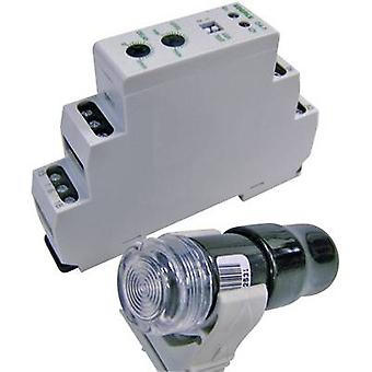 Eberle DÄ-F 565 19 Twilight switch 1 pc (s) 240 V DC, 240 V AC 1 change-over (L x W x H) 64 x 17,6 x 90 mm