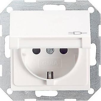 GIRA Insert PG socket System 55, Standard 55, E2, Event, Event Tranparent, Event Opaque, Esprit, ClassiX Clean white (glossy) 045403