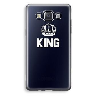 Samsung Galaxy A3 (2015) gjennomsiktig sak (myk) - King svart