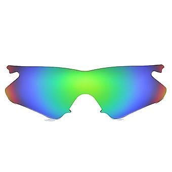 Polarized Replacement Lenses for Oakley M Frame Heater Frame Green Anti-Scratch Vented UV400 by SeekOptics