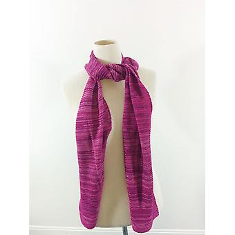 Genuine Fraas Fashion Scarf - Pink/Blue/Purple -Soft Winter Warm - Men & Ladies