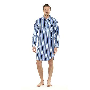Tom Franks Mens Periat bumbac Cămașă de noapte Lounge Wear