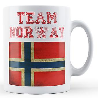 Hold Norge - trykte krus