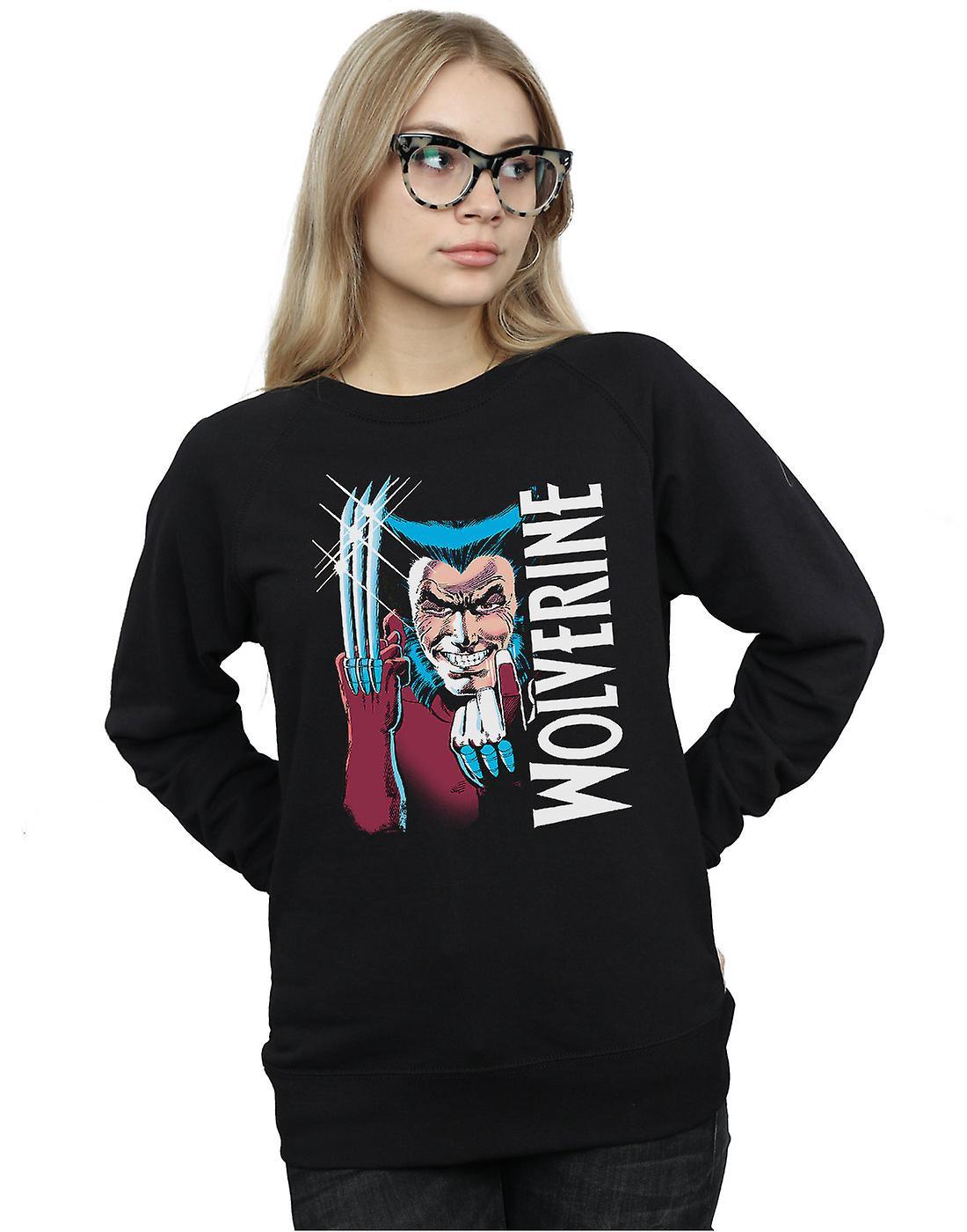Marvel Women's X-Men Wolverine Come Here Sweatshirt