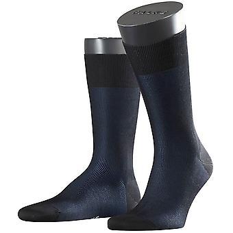Falke-bildenden Schatten Socken - schwarz/blau