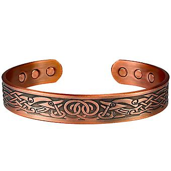 MPS® DAMINA Pure Copper Magnetic Bangle z 6 magnesami z luksusowym etui na prezent
