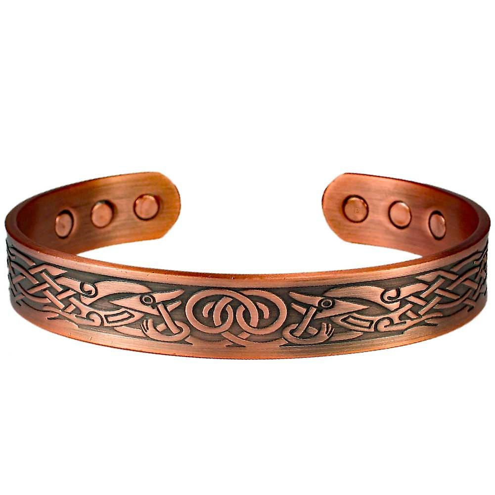 MPS® DAMINA Pure Copper Magnetic Bangle with 6 Magnets with Luxury Gift Pouch