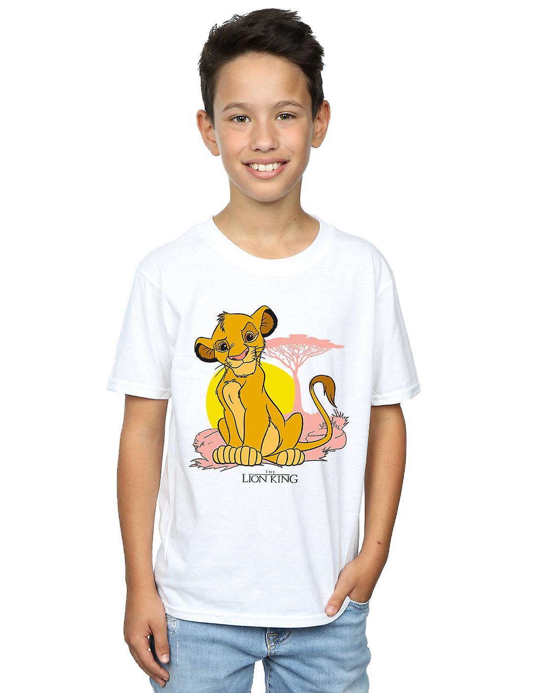 Disney Boys The Lion King Simba Pastel T-Shirt